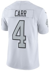 Nike Men's Derek Carr Oakland Raiders Limited Color Rush Jersey