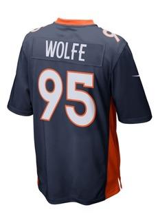 Nike Men's Derek Wolfe Denver Broncos Game Jersey