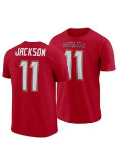 Nike Men's DeSean Jackson Tampa Bay Buccaneers Pride Name and Number Wordmark T-Shirt