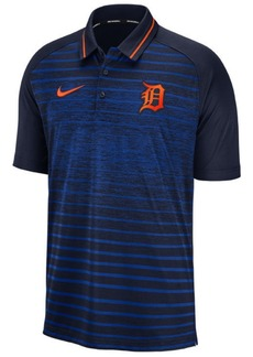 Nike Men's Detroit Tigers Stripe Game Polo