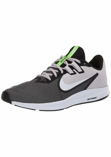 Nike Men's Downshifter 9 Shoe Black/White - vast Grey  Regular US