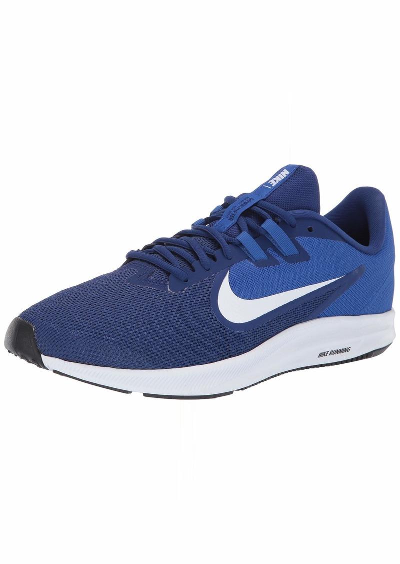 Nike Men's Downshifter 9 Sneaker deep Blue/White-Game Royal  Regular US