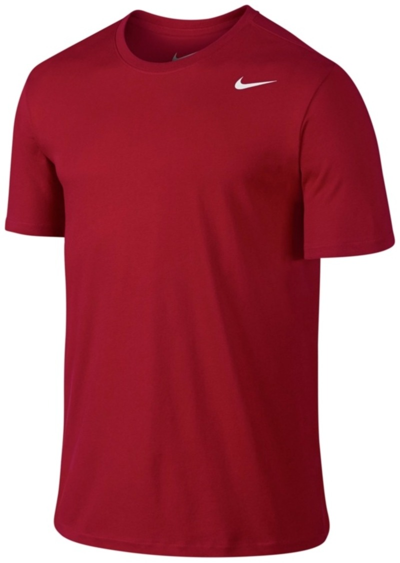 nike nike men 39 s dri fit cotton crew neck t shirt t