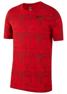 Nike Men's Dri-fit Logo-Graphic Training T-Shirt