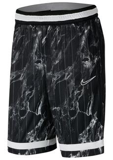 Nike Men's Dri-fit Printed Basketball Shorts