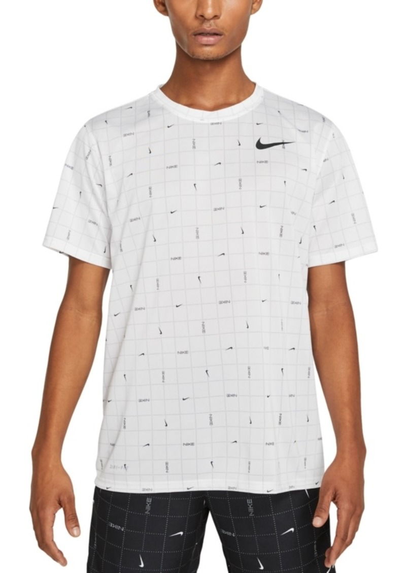 Nike Men's Dri-fit Printed Training Shirt