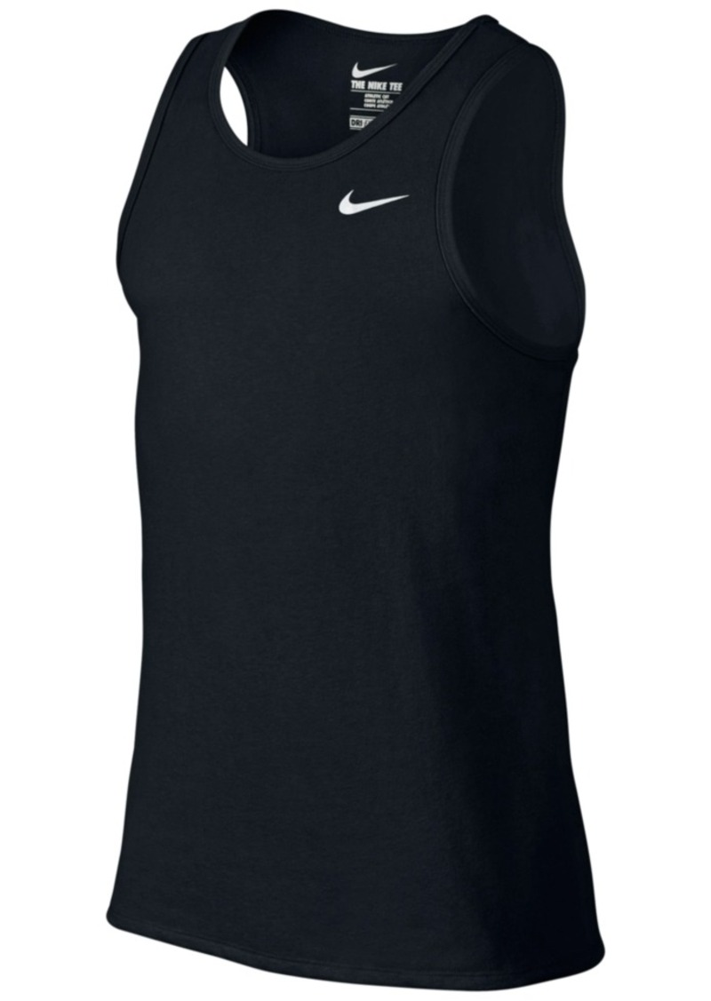 Nike nike men 39 s dri fit tank top t shirts shop it to me for Dri fit shirts on sale