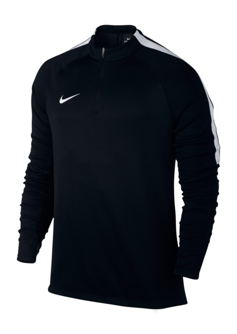Nike Men's Drill Dri-fit Quarter-Zip Soccer Top