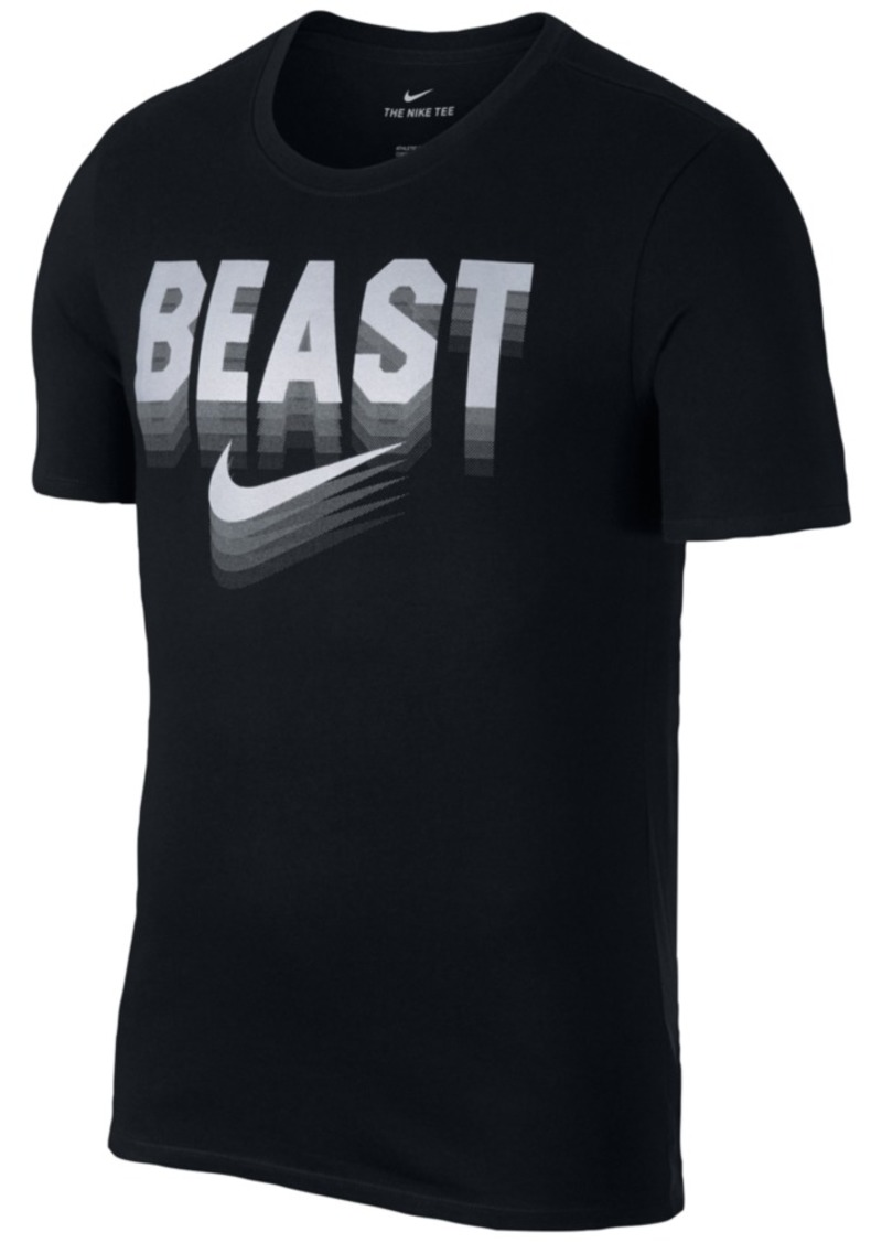17559ddf0bc0 Nike Nike Men s Dry Football Beast Graphic T-Shirt