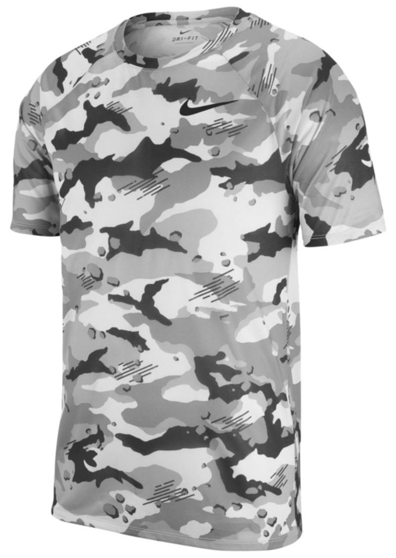 7ca45a89bfc5 Nike Nike Men s Dry Legend Camo-Print T-Shirt