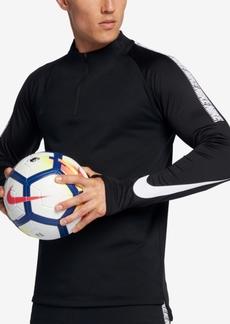 Nike Men's Dry Squad Soccer Quarter-Zip Shirt