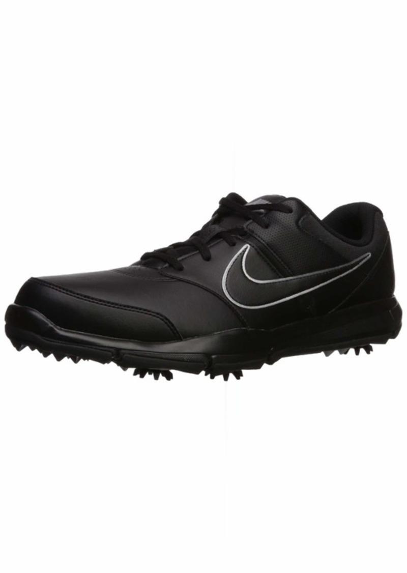 Nike Men's Durasport 4 (Wide) Shoe Black/Metallic Silver-Black 10.5 W US