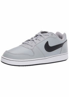 Nike Men's Ebernon Low Sneaker Wolf Grey/Black-White  Regular US