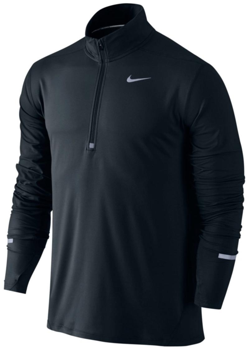 d320c6ff Nike Nike Men's Element Dri-fit Half-Zip Running Shirt Now $25.93
