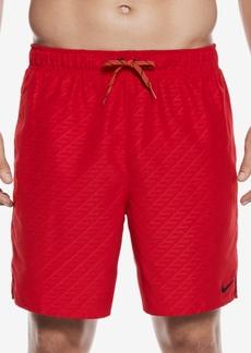 Nike Men's Embossed Volley Swim Trunks,7
