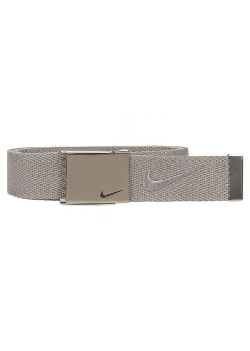 9d3a879b93 Nike Nike Men's Embroidered Swoosh Web Belt | Belts