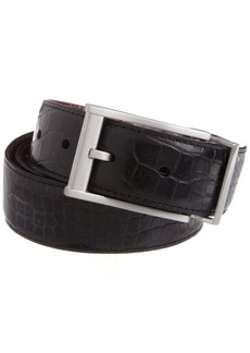 Nike Men's Everglades Premium Reversible Belt Black/Brown