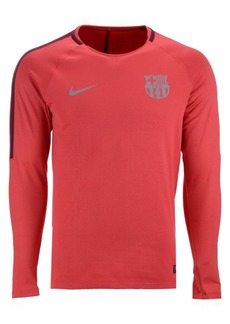 Nike Men's Fc Barcelona Long Sleeve Squad T-Shirt