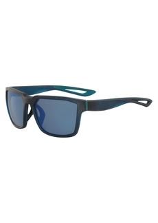 Nike Men's Fleet M Square Sunglasses  55 mm