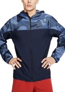 Nike Men's Flex Camo Zip Training Hoodie