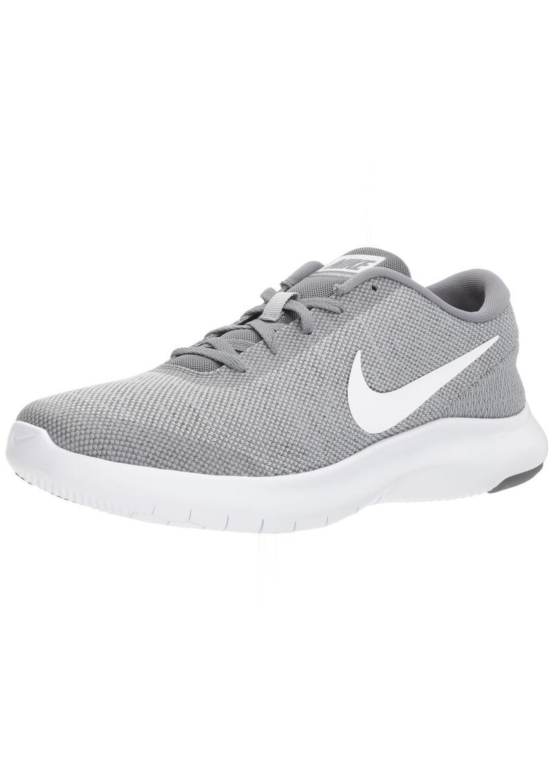 Nike Men's Flex Experience Run 7 Shoe Wolf White-Cool Grey  Regular US