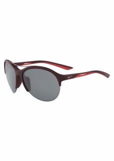 Nike Men's Flex Momentum Rectangular Sunglasses  66 mm