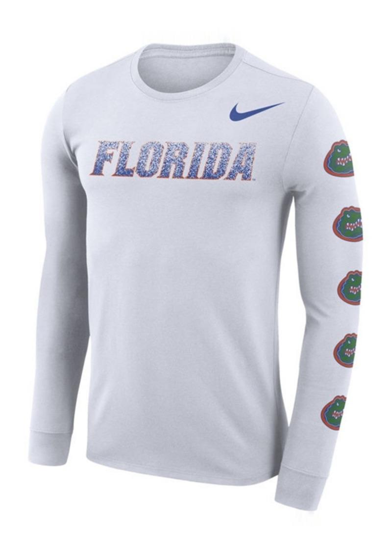 Nike Men's Florida Gators Repeat Logo Long Sleeve T-Shirt