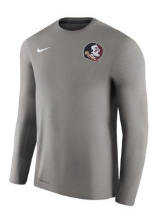 Nike Men's Florida State Seminoles Dri-Fit Touch Longsleeve T-Shirt