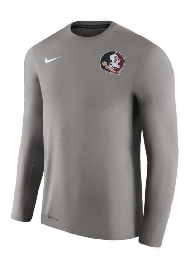 Nike Men's Florida State Seminoles Dri-Fit Touch Longsleeve T-Shirt