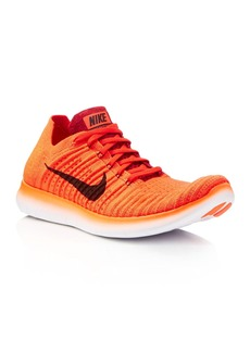 Nike Men's Free RN Flyknit Lace Up Sneakers