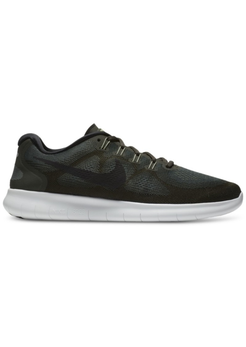 a16bfb3d51c7 Nike Nike Men s Free Run 2017 Running Sneakers from Finish Line Now ...