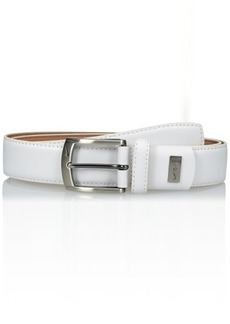 Nike Men's G-Flex Feather Edge Belt white