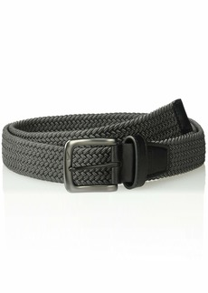 Nike Men's G-Flex Woven Stretch Golf Belt dark grey