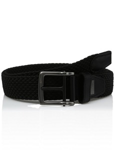 Nike Men's G-Flex Woven Stretch Golf Belt jet black