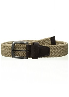 Nike Men's G-Flex Woven Stretch Golf Belt khaki