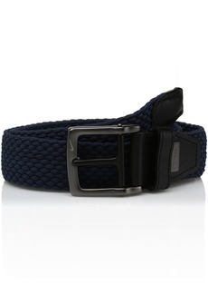 Nike Men's G-Flex Woven Stretch Golf Belt navy blue