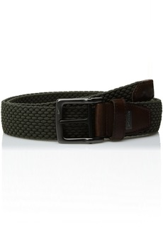 Nike Men's G-Flex Woven Stretch Golf Belt olive