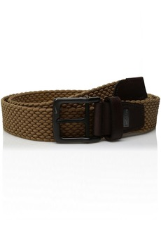 Nike Men's G-Flex Woven Stretch Golf Belt tan
