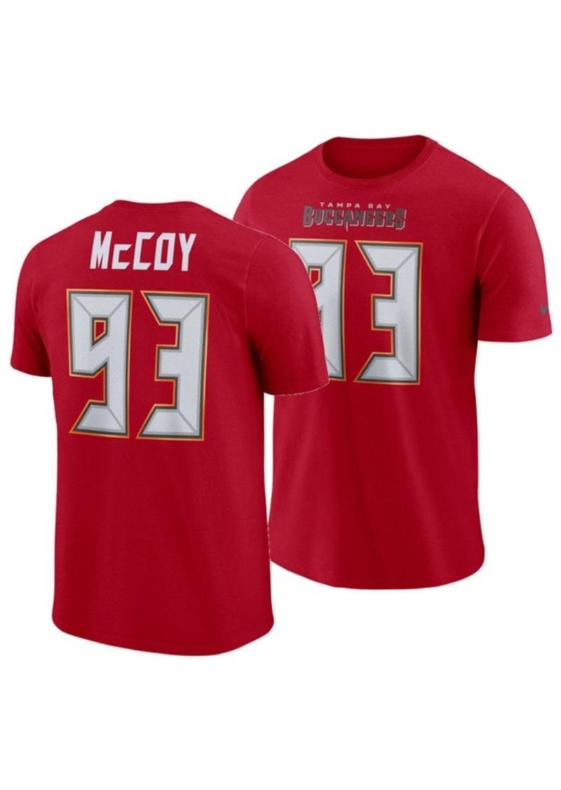 Nike Men's Gerald McCoy Tampa Bay Buccaneers Pride Name and Number Wordmark T-Shirt