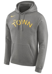 Nike Men's Golden State Warriors Earned Edition Logo Essential Hoodie
