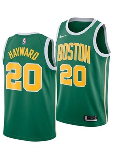 Nike Men's Gordon Hayward Boston Celtics Earned Edition Swingman Jersey