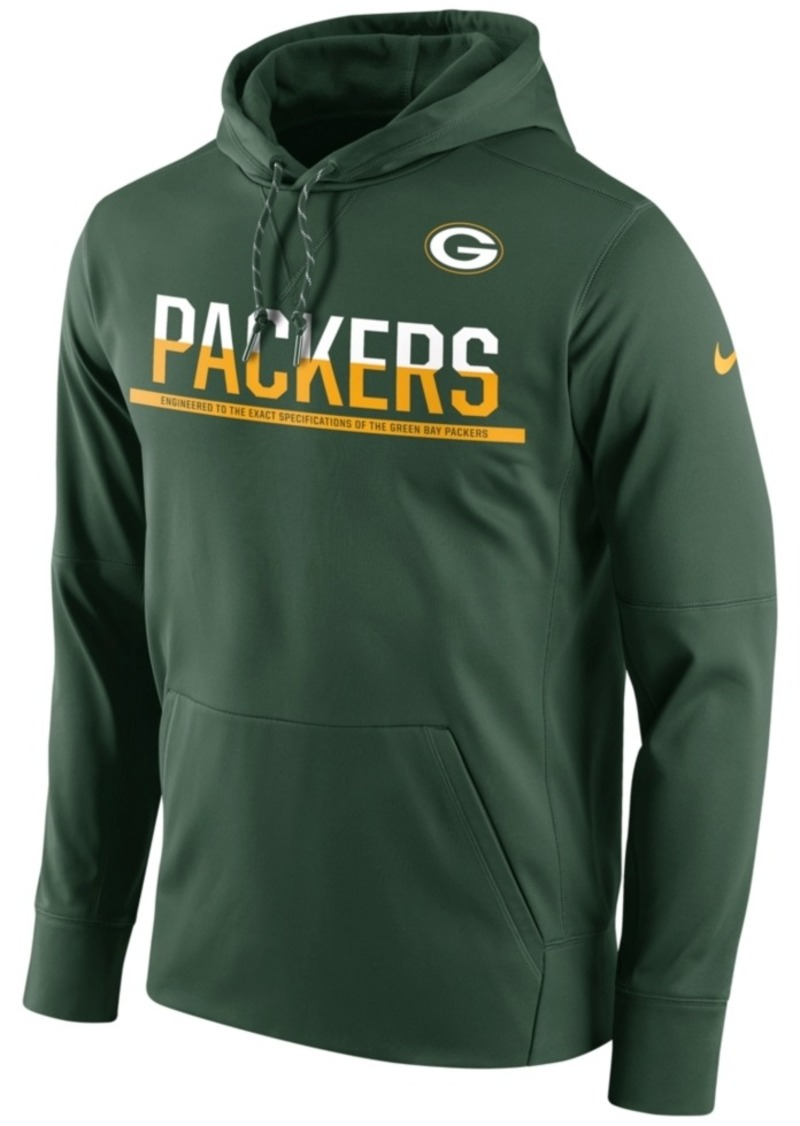 Nike Men's Green Bay Packers Circuit Pullover Hoodie