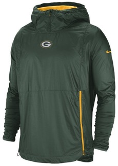 Nike Men's Green Bay Packers Lightweight Alpha Fly Rush Jacket