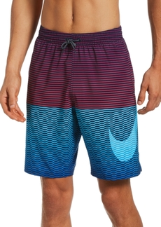Nike Men's Horizon Stripe Vital Volley Swim Shorts