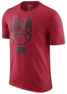 cd40e101 Nike Nike Men's Houston Rockets Dri-fit Driblend Cityscape T-Shirt | Casual  Shirts