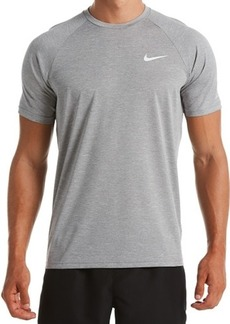 Nike Men's Men's Big & Tall Hydroguard Dri-fit Stretch Upf 40+ Heather Rash Guard