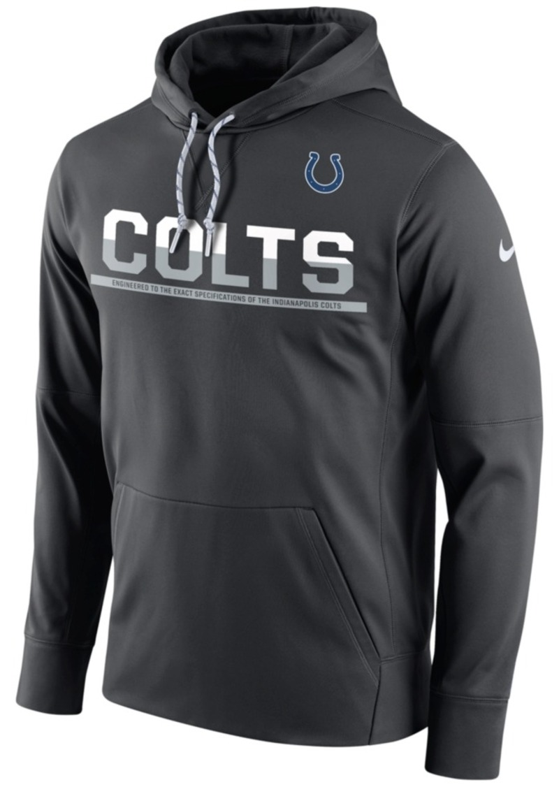 Nike Men's Indianapolis Colts Circuit Pullover Hoodie