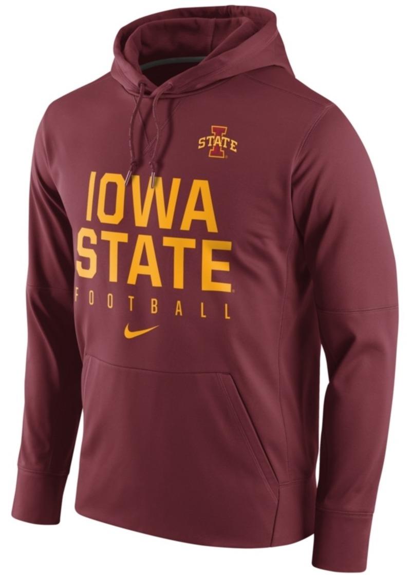 Nike Men's Iowa State Cyclones Circuit Performance Hoodie