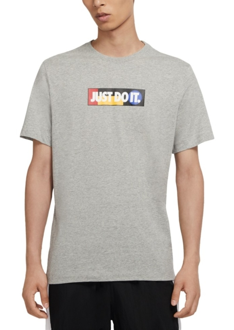 Nike Men's Just Do It Bumper Sticker T-Shirt