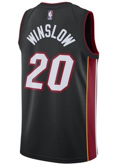 Nike Men's Justise Winslow Miami Heat Icon Swingman Jersey